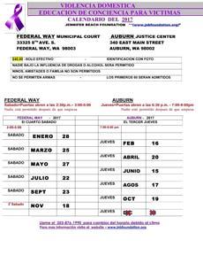 DVIP Spanish Calendar